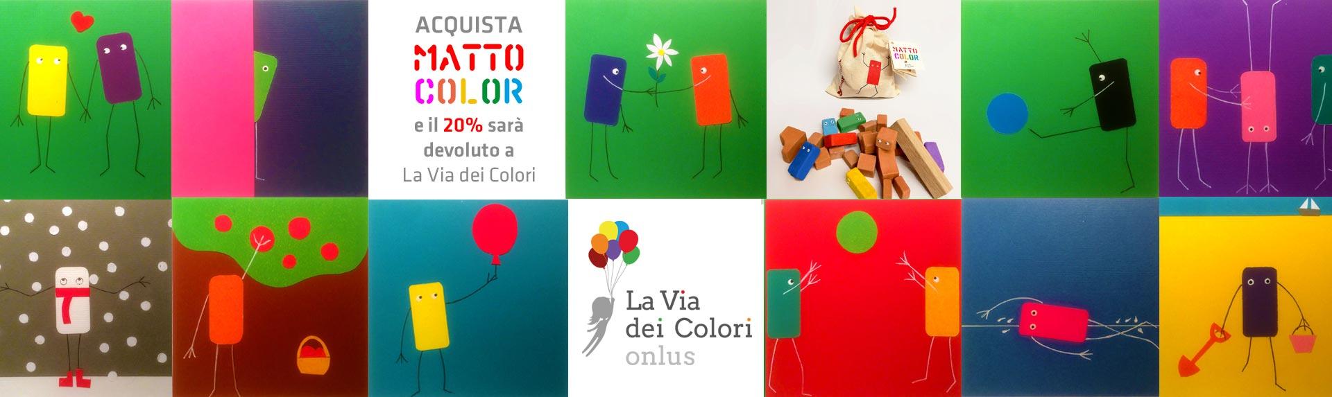 slide matto La via dei colori gioco educativo